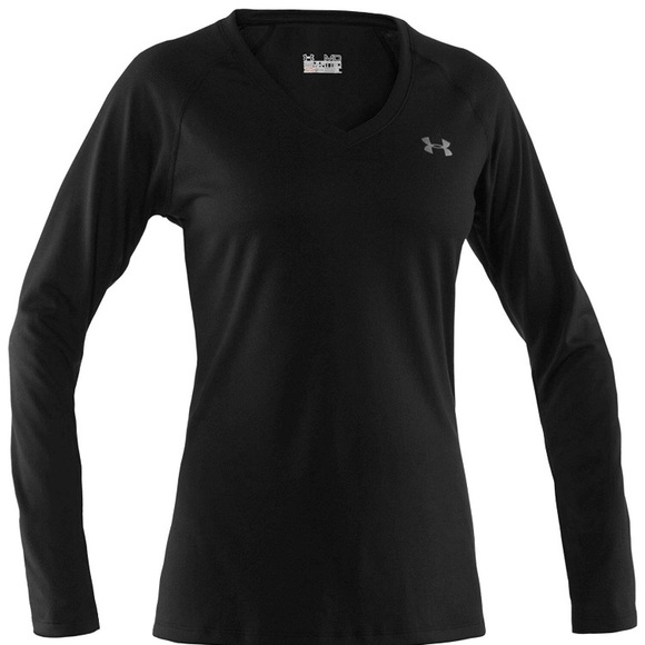 Under Armour Tops - [2 for 20] Under Armour Semi-Fitted V-Neck Tee L